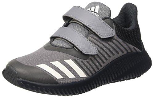 adidas Fortarun CF K, Chaussure de Sport Unisexe - enfant Gris (Grey/Ftwwht/Dkgrey)