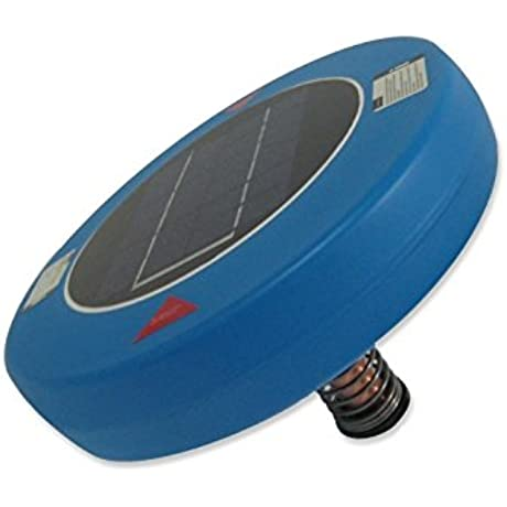 Human Creations Solar Pool Purifier Blue Cleaner Ionizer Substitute For Swimming Pool Algaecide