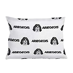Personalized Pillow Case Ariegeois Dog Breed Style A Polyester Pillow Cover 20INx28IN Design Only Set of 2 2