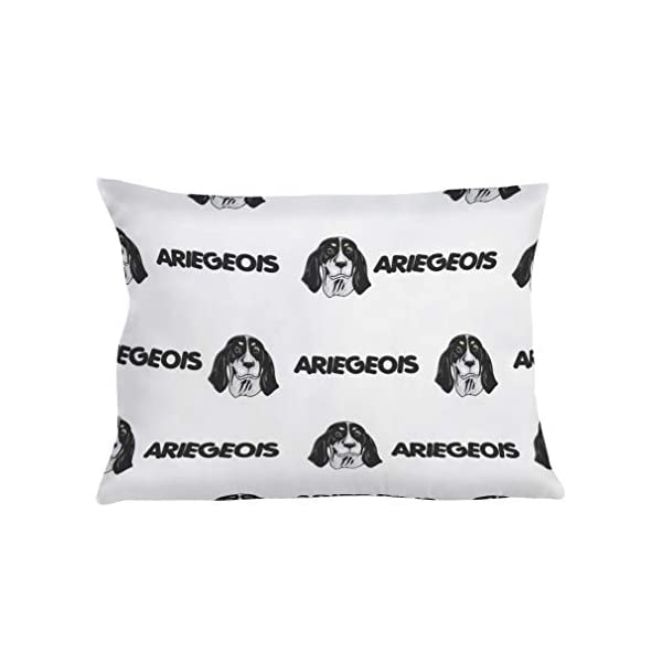Personalized Pillow Case Ariegeois Dog Breed Style A Polyester Pillow Cover 20INx28IN Design Only Set of 2 1