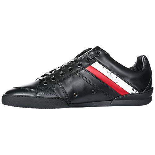 Pelle Sneakers in Nero Uomo Dior Scarpe Nuove IHxCqwn084