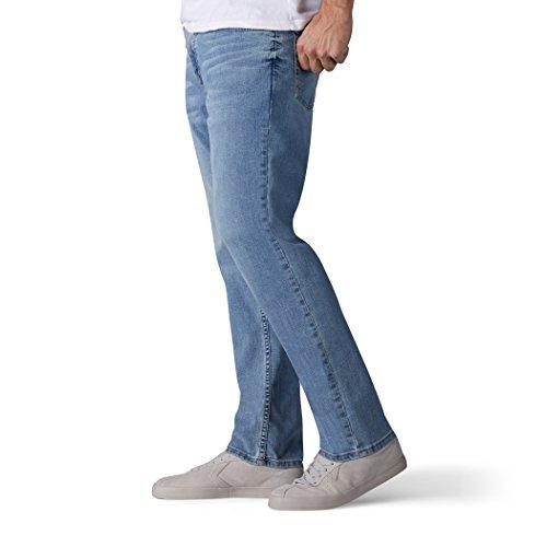 b3c0dd3d3adab LEE Men's Premium Flex Denim Regular Fit, Rowan, 32W x 32L