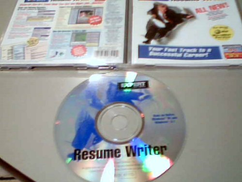 Price comparison product image 1996 Expert Software, Inc. Expert Software Resume Writer Cd-rom Windows 95 & 3.1 (Pc Software Cd-rom for Microsoft Windows 95 & Microsoft Windows 3.1)