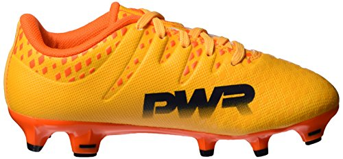 Puma Evopower Vigor 3 Fg Jr, Botas de Fútbol Unisex Niños Naranja (Ultra Yellow-Peacoat-Orange Clown Fish 03)