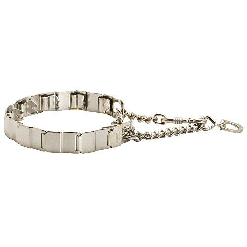 Herm Sprenger Neck Tech Stainless Steel Dog Pinch Collar -50155 010 (55) - Size 19 inch (48 cm) by Herm Sprenger pinch dog collars