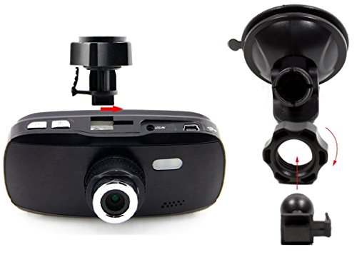 Model Dashboard Dash Cam - Heat Resistant - Full HD 1080P H.264 2 ...