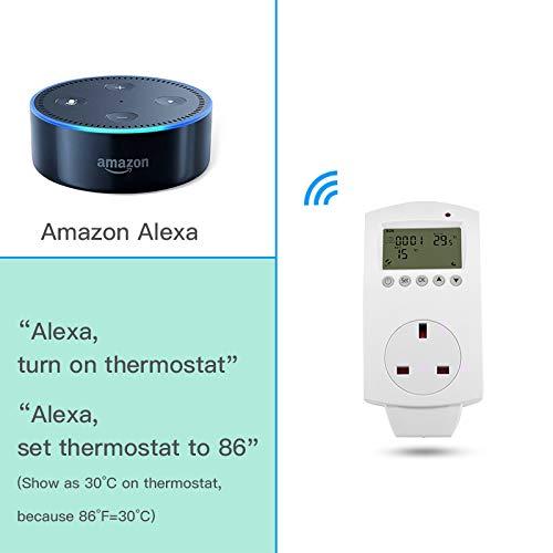 TuyaSmart/Smart Life APP Control aixi-SHS Wireless Wi-Fi Thermostat