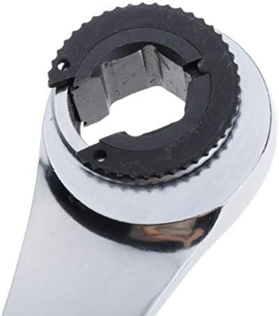 B Baosity チューブ ラチェットレンチセット フレックス ラチェット レンチセット 修理キット 16-23.5cm - 17mm