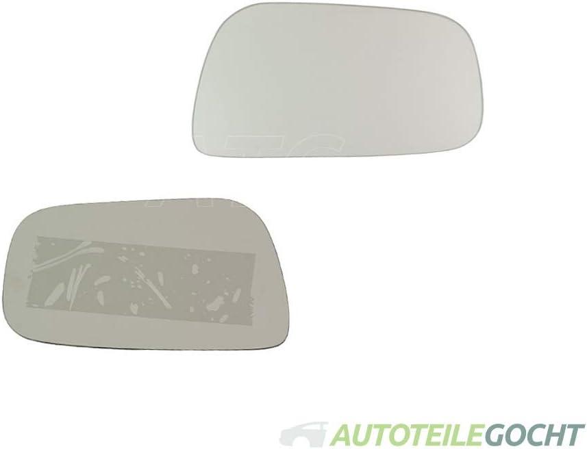 Spiegel Ersatzglas Rechts Konvex f/ür TOYOTA CAMRY V2 96-01 von Autoteile Gocht