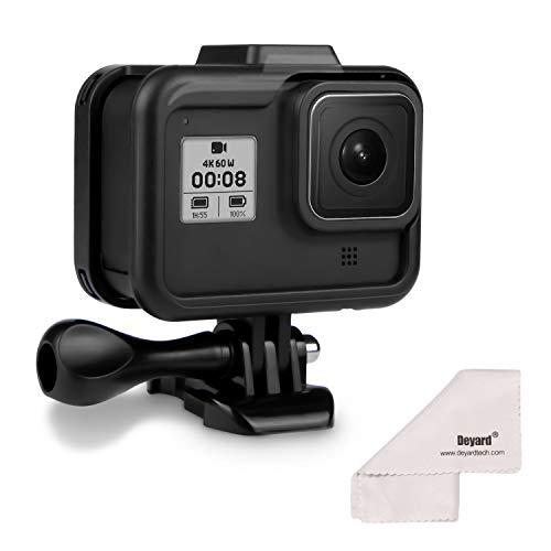 Deyard Rahmen-Gehäuse für GoPro, schwarz, Frame Mount for GoPro Hero 8