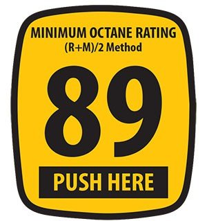 Decals (Pack of 5) - Ovation - 89 Octane Rating (2.75