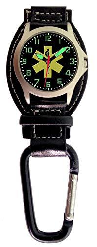 - EMT Logo Carabiner Theme Watch