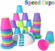 COALA HOLA Quick Stacking Cups Games for Kids - Color Recognition Speed Cups for Toddlers – Baby Interactive S