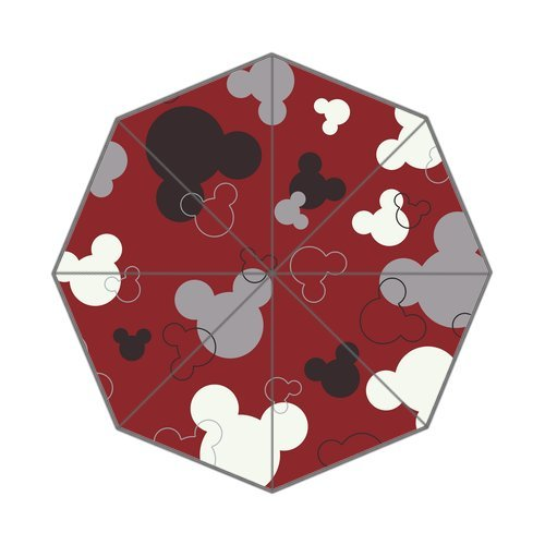 Cartoon Mickey Umbrella Custom Foldable