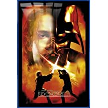 "Star Wars: Episode III - Revenge Of The Sith - Framed Movie Poster / Print (Anakin / Darth Vader - Split Face) (Size: 27"" x 40"")"