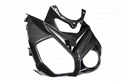 (2014 +) BMW S1000R Carbon Fiber Fibre Headlight Windscreen Windshield Holder Cowl Cover Fairing