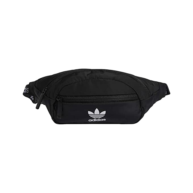 daf11d3503 Amazon.com : adidas Originals National Waist Pack, Black/White, One Size :  Clothing