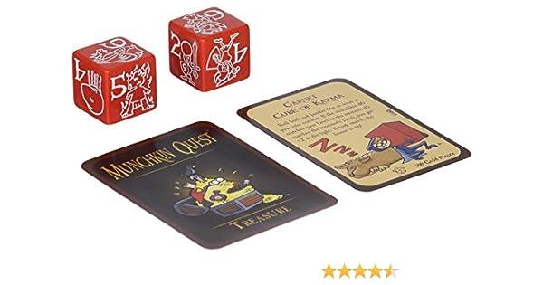 Steve Jackson Games Munchkin Jumbo Dados D6 Juego de Cartas (Rojo): Amazon.es: Juguetes y juegos