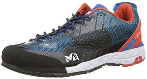 MILLET Unisex-Erwachsene Amuri Kletterschuhe Blau (Electric Blue/orange)