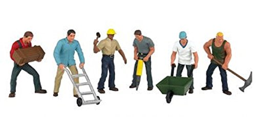 Bachmann Trains Construction Workers for sale  Delivered anywhere in USA