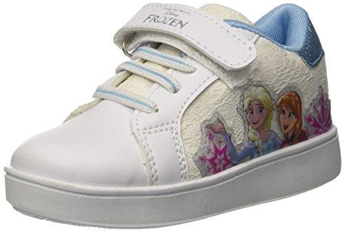 Disney Skate Light Pizzo, Zapatillas Para Niñas Bianco (White)