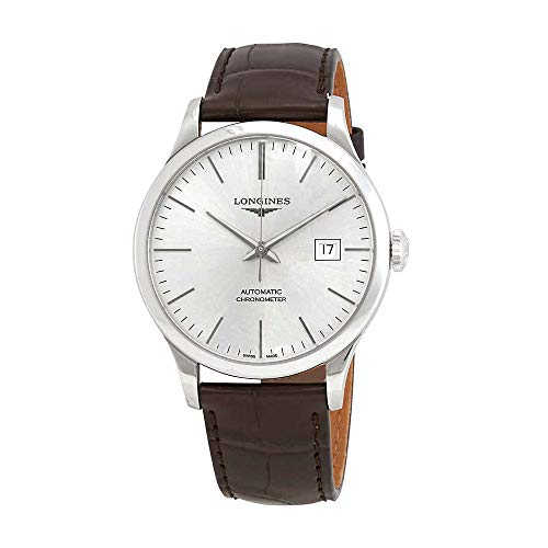 Longines Record Automatic Sunray Silver Dial Men's Watch L28214722