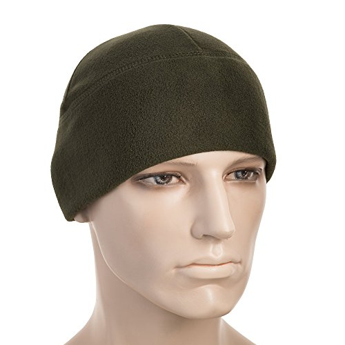 M-Tac Skull Cap Fleece 330 Winter Hat Mens Military Watch Tactical Beanie (Olive, Small)