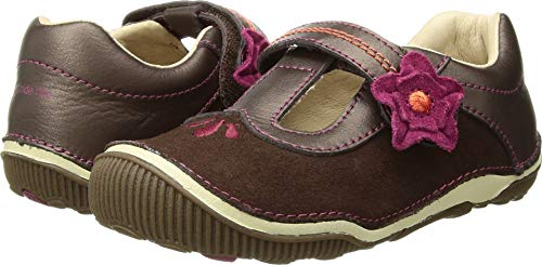 Stride Rite SRTech Teagan T-Strap (Toddler), Brown, 5.5 M US Toddler