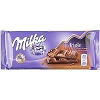 Milka Tableta De Chocolate Triple Caramel