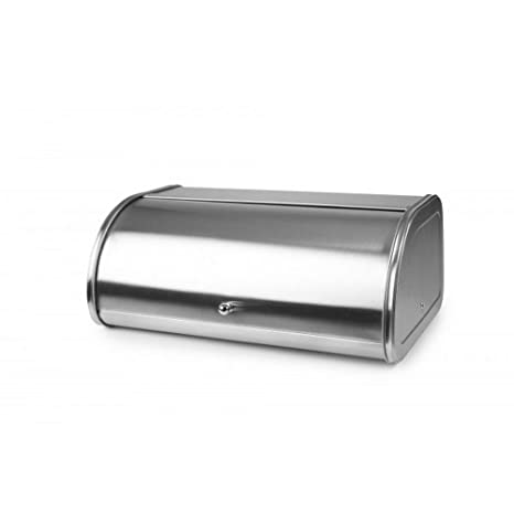 Amazon.com | Ibili 765410 Bread Box L, Stainless Steel ...