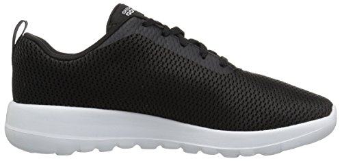 Shoe Go Black Women's 15601 White Walking Skechers Joy wCXqxR7H
