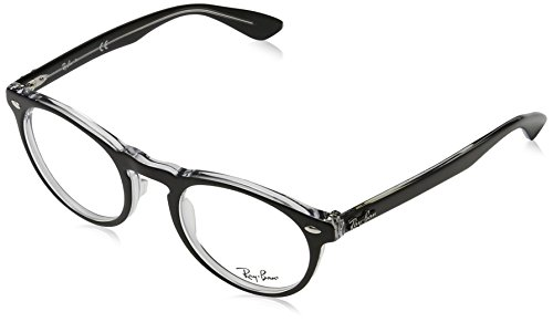 Ray-Ban Glasses 5283 2034 Black 5283 Round - Ban Ray Online Sunglasses