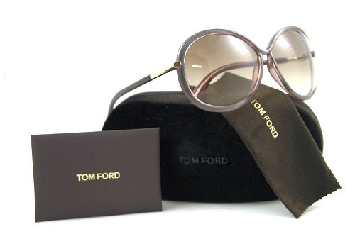 c59d17cd71 Image Unavailable. Image not available for. Color  Tom Ford Women s 0162  Clothilde Metalized Grey   Gold Details Frame Brown ...