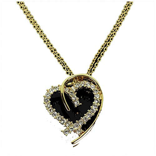 Wholesale Dropship Costumes Jewelry - 1989 Love Heart Pendant Necklace for