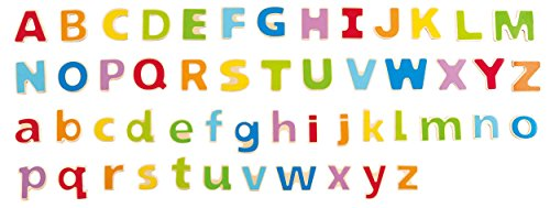 (Hape ABC Magnetic Fridge Letters Toddler Learning Toy)