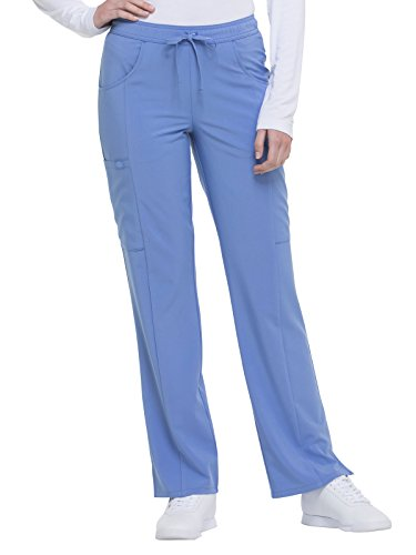 Dickies EDS Essentials Women's Drawstring Cargo Scrub Pant Small Ciel from Dickies