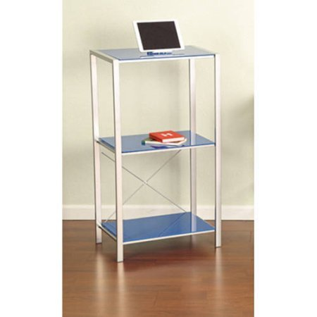 (Mainstays Glass Bookcase, Multiple Colors)