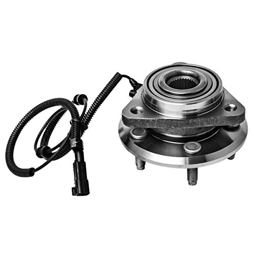 Front Wheel Hub and Bearing Assembly Left or Right Compatible 2007-2011 Dodge Nitro 2008-2012 Jeep Liberty AUQDD 513270 [ 5 Lug W/ABS ]