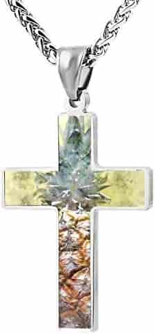 M100/% Cross Love Heart Infinity God 3D Print Jewelry New Atheist Symbol Cross Pendant Necklace