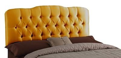 Skyline Furniture Surrey Micro-Suede-Upholstered Tufted Headboard