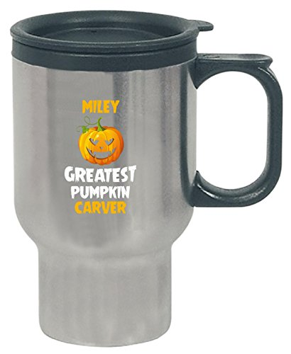 Miley Greatest Pumpkin Carver Halloween Gift - Travel Mug ()