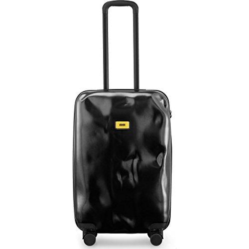 Crash Baggage Pioneer Medium Trolley Suitcase | Super Black by Crash Baggage