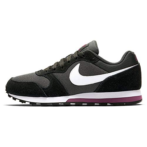 Mujer Md white De Para 2 Runner Deporte Nike Wmns 012 anthracite Multicolor black Zapatillas bordeaux S5HqHFx