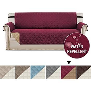 Amazon Com Deluxe Reversible Sofa Furniture Protector