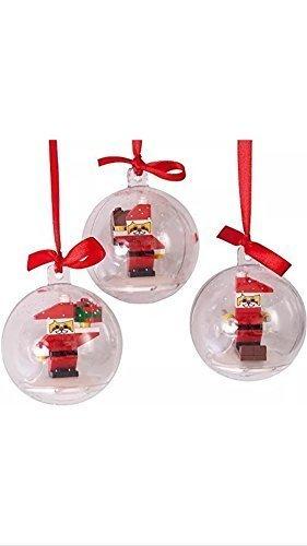 Palline Di Natale Con Le Foto.Lego Palline Di Natale Con Omini Lego All Interno Amazon
