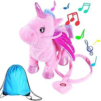 Electronic Plush Toys Toys & Hobbies Brave New Walking Unicorn Plush Toy Stuffed Animal Unicorn Soft Toy Electronic Music Toy For Children Christmas Gifts Buy One Get One Free