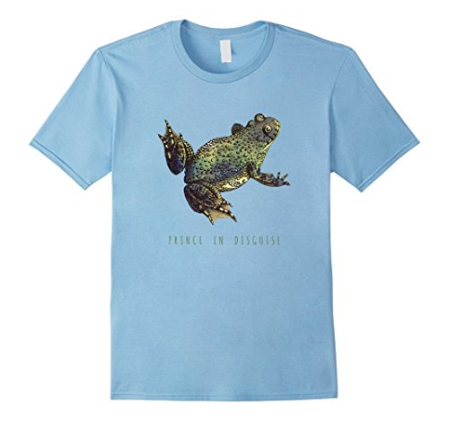 Mens Prince In Disguise Funny Toad/Frog Halloween Costume T-Shirt XL Baby (Blue Toad Halloween Costume)