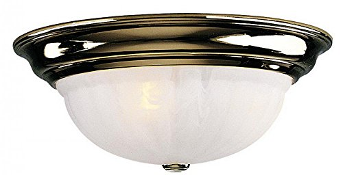 Dolan Designs 523-14 Richland 3 Light Flush mount, Polished Brass