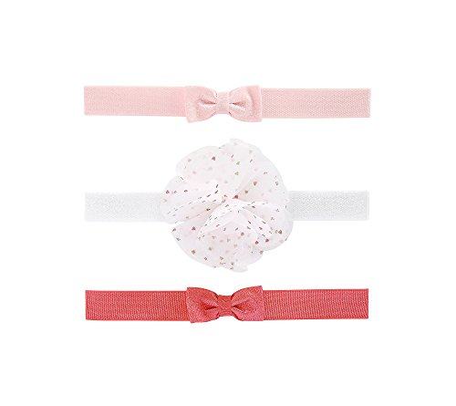 Carter's 3-Pack Baby Girls' Headwraps 0-6 Months by Carter's