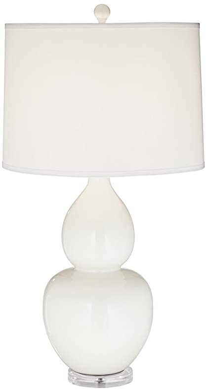 Pacific coast lighting contempo table lamp in white amazon pacific coast lighting contempo table lamp in white aloadofball Images